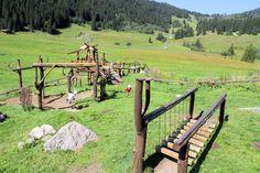 Albert Link Hütte-Spielplatz-berglandschaft-bayern