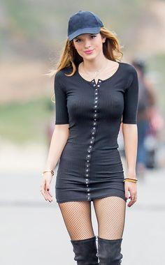 Bella Thorne.    I swear, I'm just looking at all those buttons.  ;)  Full size (800 × 1290):  https://nudecelebritypictures.nu/10/BellaThorne3/BT3.jpg