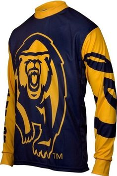 NCAA California Golden Bears Mountain Bike Cycling Jersey Team Medium *** Continue to the product at the image link. Bear Mountain, Mountain Biking, Mountain Bike Jerseys, California Golden Bears, Fitness Studio, Cycling Bikes, Sweatshirts, Sleeves, Clothes