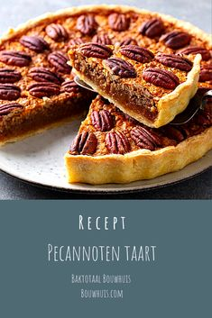 Dutch Bakery, Good Food, Yummy Food, Pie Cake, Vegan Dishes, Food Inspiration, Baking Recipes, Delicious Desserts, Sweet Treats
