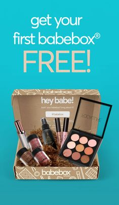 BabeBox® is our all-new Subscription Box, it delivers Full-Sized beauty products straight to your doorstep each month. Your First Month is FREE! Best Beauty Boxes, Free Beauty Box, Free Beauty Samples, Free Makeup Samples, Free Samples, Best Beauty Subscription Boxes, Beauty Box Subscriptions, Monthly Makeup Subscription Boxes, Monthly Makeup Boxes