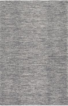 NomeSG01 Hand Woven Cotton Casual Solid Rug
