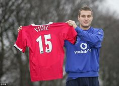 Vidic cost £7million when United signed him from Spartak Moscow in 2006