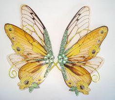 OOAK Fairy Pixie Fantasy Art Doll Wings ADSG by IndigoMoonWings