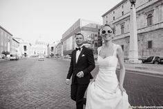 May 2014, wedding in Rome Graeme and Karen.