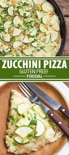If you've still got plenty of zucchini from your harvest and want to use it up, here's a different way to cook with it – place it on top on your pizza along with fragrant, tasty, caramelized onions for the perfect vegetarian meal! Plus, the crust is gluten-free, so even those with celiac disease and gluten-intolerant friends can enjoy it. Get the recipe now on Foodal.