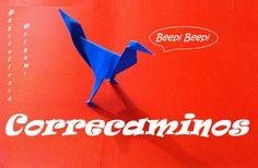 Origami - Papiroflexia. Correcaminos. Road Runner.