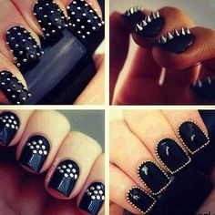 Nagels met spikes en studs van Fashion Climaxx