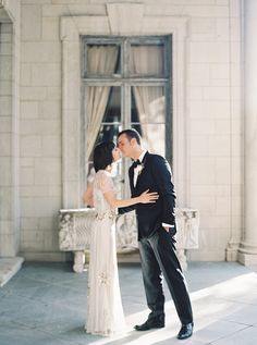 vintage wedding via once wed