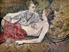 Two Friends - 1895 - E. G. Buhrle Collection - Painting - … | Flickr