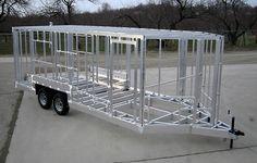 How To Build A Box Trailer Frame Aluminum Trailer Trailer Plans Trailer Build Box Trailer Cargo Trailer Camper Off Cargo Trailer Camper, Tiny House Trailer, Cargo Trailers, Utility Trailer, Tyni House, Fish House, Tiny House Cabin, Tiny House On Wheels, Trailer Plans