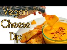 (8) Vegan Cheese Sauce Dip (Fat Free Optional) RICH BITCH COOKING - YouTube