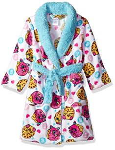 Shopkins Girls' Luxe Plush Robe