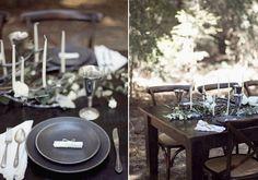 Winter Woodland Wedding inspiration   photo by Meghan Kay Sadler   100 Layer Cake