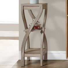 Monarch Specialties Twist End Table | Hayneedle