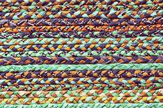 DIY Braided Rug on A Beautiful Mess