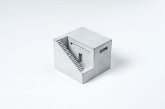 Miniature Concrete Buildings by Material Immaterial studio
