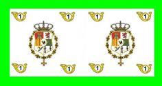 Bandera del Regimiento de Infantería Ligera Castilla 1º