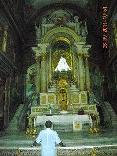 Interior of the Church La Merced Old Havana