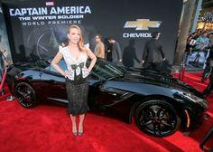 Captain America Winter Soldier Black Chevrolet Corvette Stingray