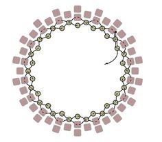 Crystal rivoli earrings and pendant f2