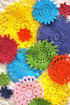 Hand dyed Crochet