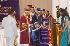 NIILM – CMS, one of India's premier business school accredited by National Board of Accreditation, the highest accreditation body in India has conferred PGDM degree in management to 139 students at its Fourteenth Annual Convocation held on 22 September 2012.