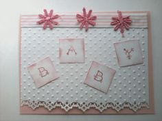 card baby pink