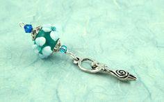 Blessingway bead - Moonlit Pond Goddess: https://www.etsy.com/listing/167058257/blessingway-bead-moonlit-pond-goddess