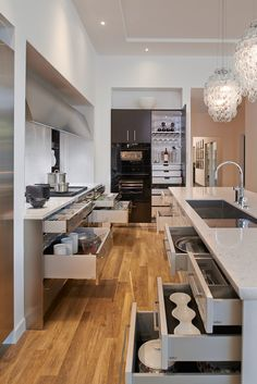 All cabinetry by SieMatic. Want to see more? Visit us at 7550 Wisconsin Avenue in Bethesda, MD.