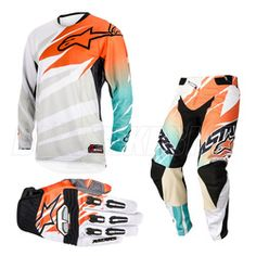 I'm loving A-stars' riding kits this year especially the gear BamBam and ET have been running - Alpinestar is on point! Alpinestars Techstar Motocross Kit Combo - White Orange Marine - 2014 Alpinestars Motocross Kit Combos - 2014 Alpinestars