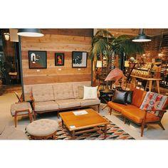 #acmefurniture #acme #jiyugaoka #furniture #california #americanvintage  #delmarsofa #yusukehanai
