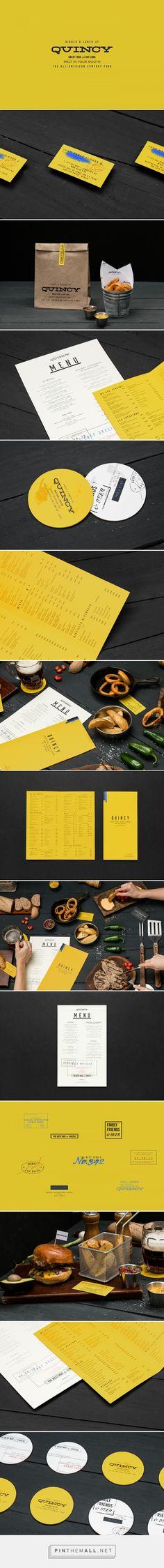Quincy Restaurant Branding by Parametro Studio on Behance | Fivestar Branding – Design and Branding Agency & Inspiration Gallery