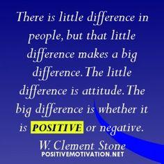 Positive attidude- W. Clement Stone
