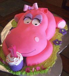 #cake #hippo