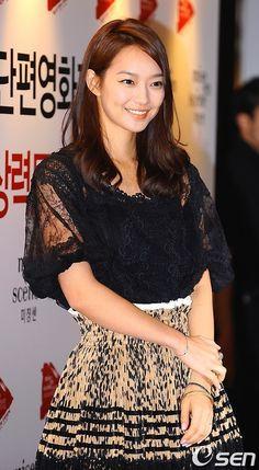 South Korean actress and model Shin Min Ah