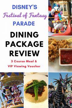Disney Series: Festival of Fantasy Parade Dining Package Review #Disney #DisneyParades #WDW #WaltDisneyWorld