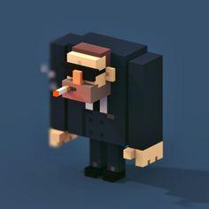 Картинки по запросу voxel character