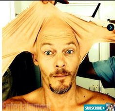 Norman Reedus - bald isn't a bad look