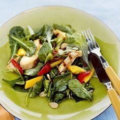 Mango chicken salad - summer recipes