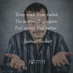Failure is a part of #life and when you embrace it as just a moment of clarity, it becomes a lesson.