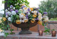 antique rose bouquet by roxanne storm via roughluxeperspective.com