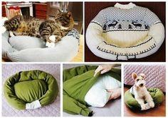 Leben mit Katzen » Katzenkissen selber machen