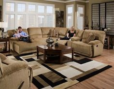 Shop for Catnapper Furniture 662 Grandover Sectional, 662 Sectional, and other Living Room Sectionals at Weiss Furniture Company in Latrobe, PA. IN GRAY! LOVE THE RUG! Sectional Sofa With Recliner, Reclining Sectional, Living Room Sectional, Living Room Furniture, Home Furniture, Living Room Decor, Couches, Recliners, Furniture Reupholstery