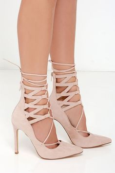 82014927a95 46 Best Lace Up High Heels images