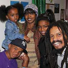 Lauryn hill and rohan marleys family