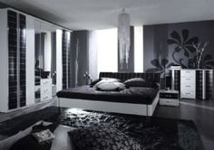 Our Santiago bedroom suite is a unique design that incorporates a combination of wooden textures and subtle contrasting chrome outlines.For more information about furniture design visit at chromatiche