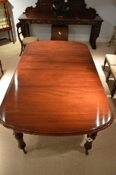 Want This One 54 Round Extends To 10ft Victorian Solid Mahogany Dining Table C 1870 London For The Home Pinterest