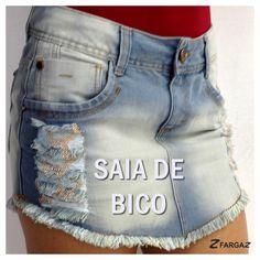 Saia jeans da Fargaz Verão 2015!