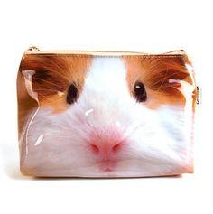 Guinea pig makeup bag!